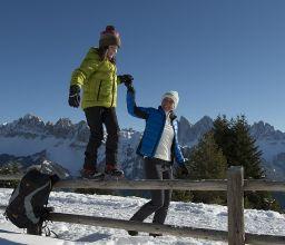 Winterwandern Schatzerhütte